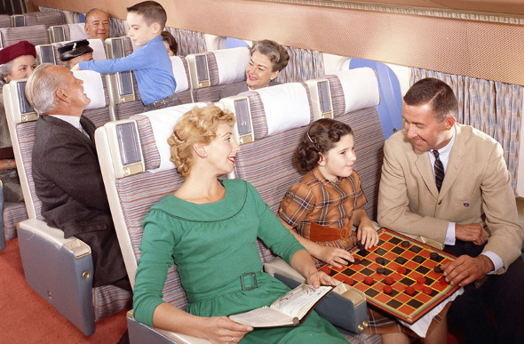 board games on plane