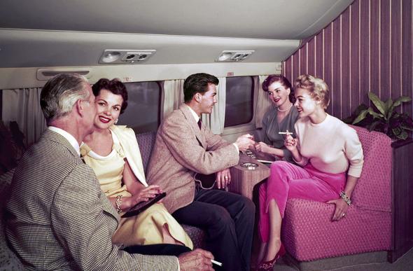smoking on plane