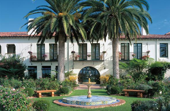 The Biltmore Hotel in Santa Barbara