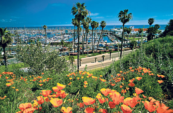 Santa Barbara isn't a place for frenetic tourism