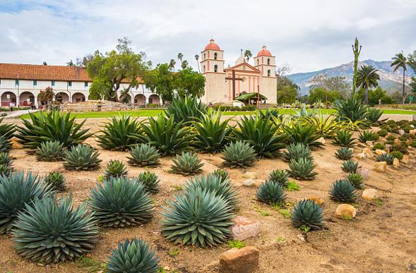 The Old Mission of Santa Barbara