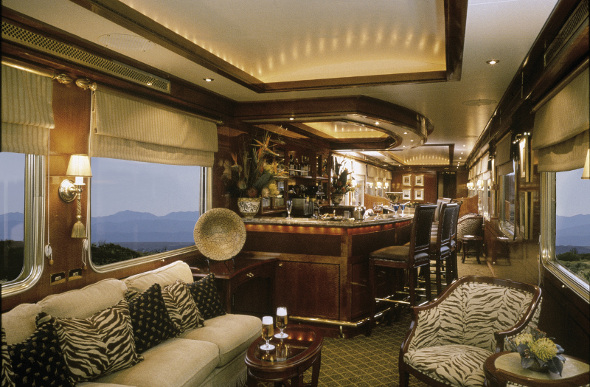 Old-World Opulence Aboard South Africa's Blue Train