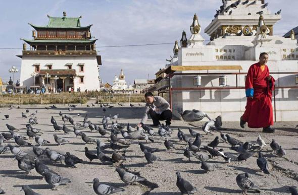 Ulaanbaatar monastery