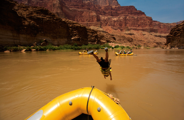 Colorado River dive