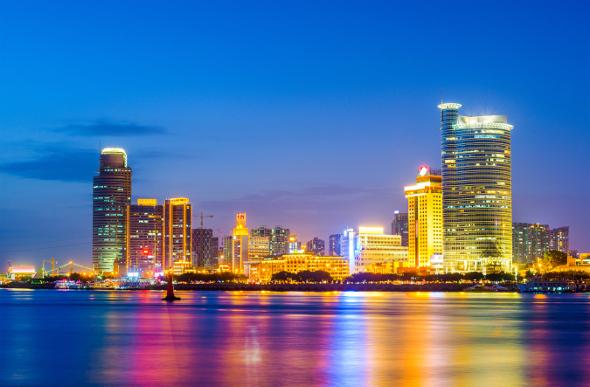 Xiamen skyline