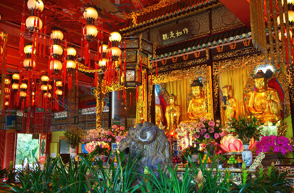 Lantau monastery