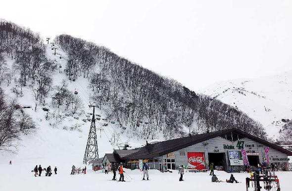 ski jump at Hakuba