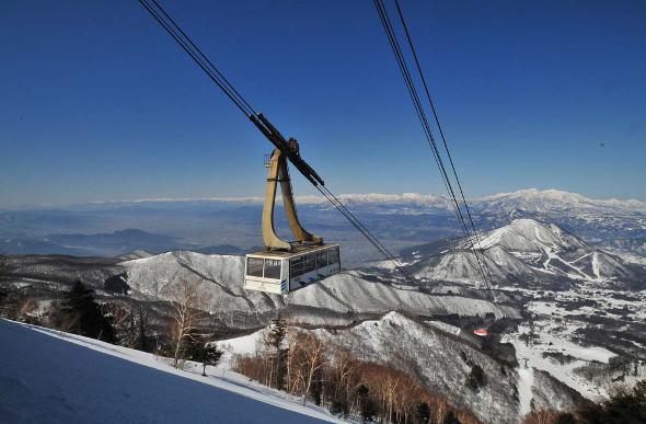 cable car Nagano