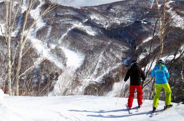 off-piste at Nagano
