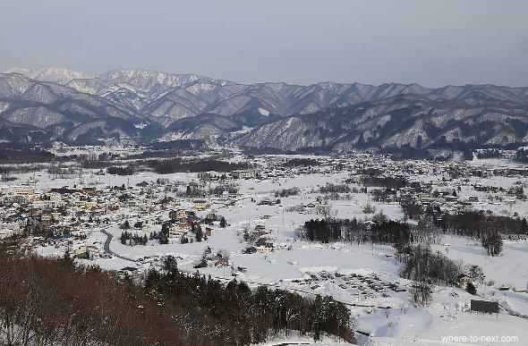 view from Hakuba