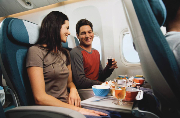 Air New Zealand dining