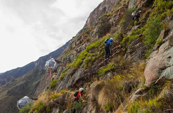 Via Ferrata Peru