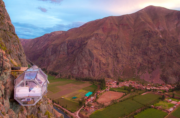 Peru Skylodge view