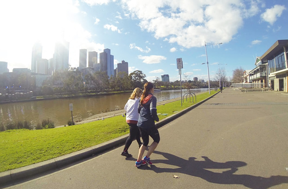 Running Melbourne