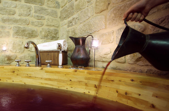 Wine Oil spa