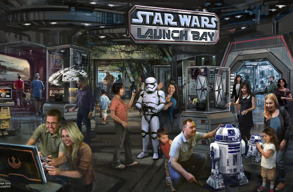 Disney Star Wars interactive