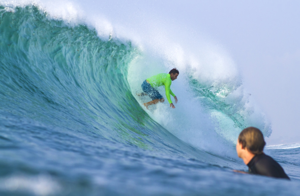 Surfers first found Sumba