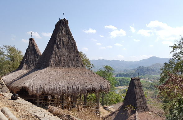 Village on Sumba Island