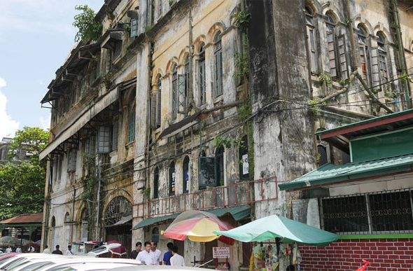 Saving Yangon's Crumbling History